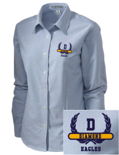 Diamond Elementary School Eagles Embroidered Women's Classic Oxford
