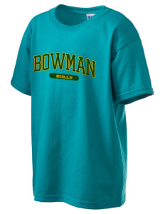 Bowman Elementary School Bulls Kid's 6.1 oz Ultra Cotton T-Shirt