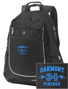 Oakmont High School Vikings Embroidered OGIO Carbon Backpack