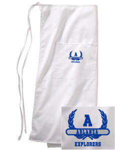 Arlanza Elementary School Explorers Embroidered Full Bistro Bib Apron