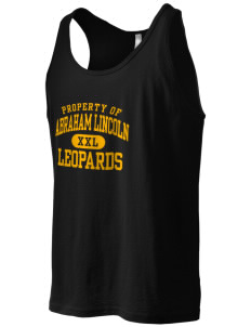 Abraham Lincoln Elementary School Leopards Men's Jersey Tank
