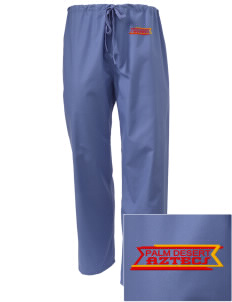 Palm Desert High School Aztecs Embroidered Scrub Pants