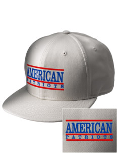 American High School Patriots  Embroidered New Era Flat Bill Snapback Cap