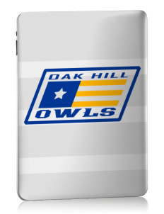 Oak Hill Elementary School Owls Apple iPad Skin