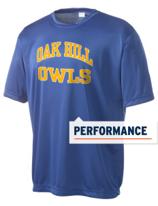 Oak Hill Elementary School Owls Men's Competitor Performance T-Shirt