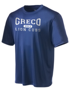 Greco Middle School Lion Cubs Champion Men's Wicking T-Shirt