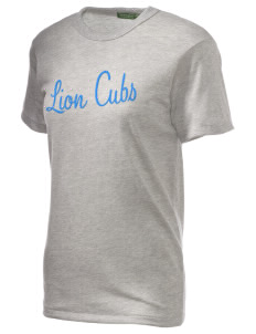 Greco Middle School Lion Cubs Embroidered Alternative Unisex Eco Heather T-Shirt