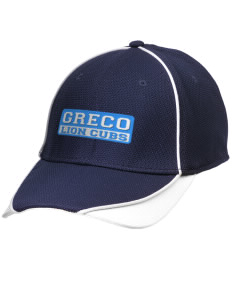 Greco Middle School Lion Cubs Embroidered New Era Contrast Piped Performance Cap