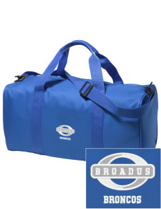 Broadus Elementary School Broncos Embroidered Holloway Duffel Bag