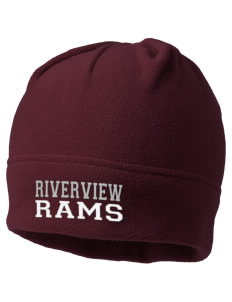 Riverview High School Rams Embroidered Fleece Beanie