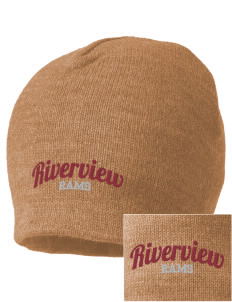Riverview High School Rams Embroidered Beanie