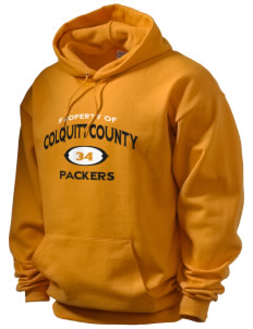 Colquitt County High School Packers Men's Hooded Sweatshirt