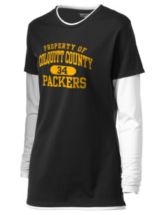 Colquitt County High School Packers Women's Long Sleeve Double Layer T-Shirt