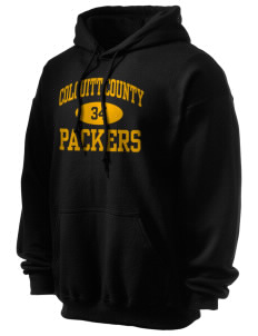 Colquitt County High School Packers Men's Ultra Blend 50/50 Hooded Sweatshirt