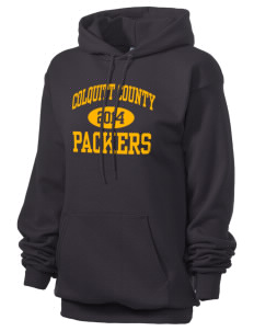 Colquitt County High School Packers Unisex 7.8 oz Lightweight Hooded Sweatshirt