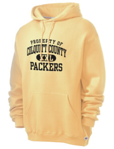 Colquitt County High School Packers Russell Men's Dri-Power Hooded Sweatshirt