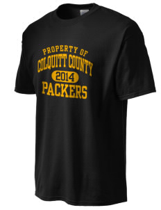 Colquitt County High School Packers  Men's Basic Essential T-Shirt