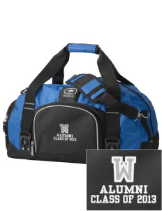 Waikiki Elementary School Waikiki Warriors  Embroidered OGIO Big Dome Duffel Bag