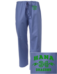 Hana High School Dragons Embroidered Scrub Pants