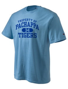 Pachappa Elementary School Tigers Champion Men's Tagless T-Shirt