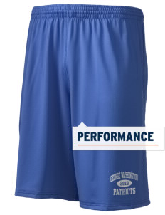 "George Washington Elementary School Patriots Holloway Men's Performance Shorts, 9"" Inseam"
