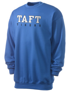 Taft Elementary School Tigers Men's 7.8 oz Lightweight Crewneck Sweatshirt