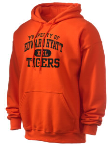 Edward Hyatt Elementary School Tigers Ultra Blend 50/50 Hooded Sweatshirt