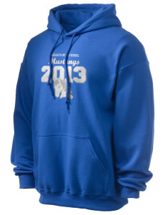 Margarita Middle School Mustangs Ultra Blend 50/50 Hooded Sweatshirt