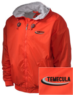 Temecula Elementary School Temecula Tigers Embroidered Holloway Men's Hooded Jacket