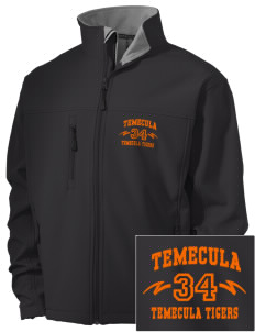 Temecula Elementary School Temecula Tigers Embroidered Men's Soft Shell Jacket