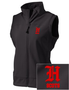 Highlands High School Scots  Embroidered Women's Glacier Soft Shell Vest