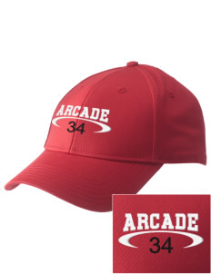 Arcade Middle School Spartans  Embroidered New Era Adjustable Structured Cap