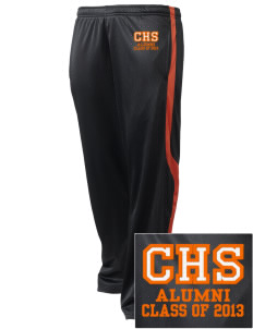 Chaffey High School Tigers Embroidered Holloway Men's Tricotex Warm Up Pants