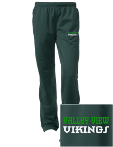 Valley View High School Vikings Embroidered Women's Tricot Track Pants