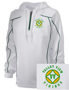 Valley View High School Vikings Embroidered Russell Women's Prestige 1/4 Zip Jacket