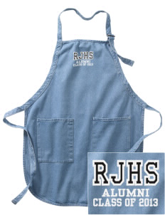 Ramona Junior High School Indians Embroidered Full-Length Apron with Pockets