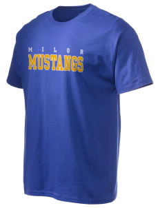 Milor Continuation Senior High School Mustangs Hanes Men's 6 oz Tagless T-shirt