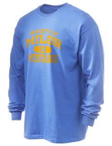 Milor Continuation Senior High School Mustangs 6.1 oz Ultra Cotton Long-Sleeve T-Shirt