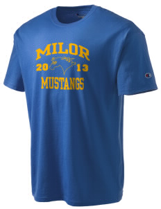 Milor Continuation Senior High School Mustangs Champion Men's Tagless T-Shirt