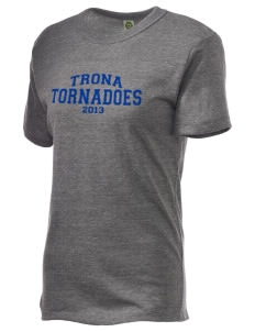 Trona Elementary School Tornadoes Embroidered Alternative Unisex Eco Heather T-Shirt