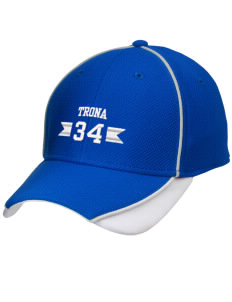 Trona Elementary School Tornadoes Embroidered New Era Contrast Piped Performance Cap