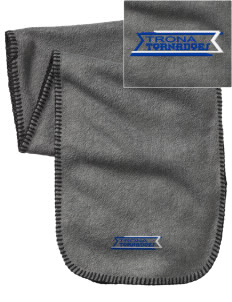 Trona High School Tornadoes Embroidered Fleece Scarf