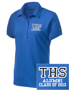 Trona High School Tornadoes Embroidered OGIO Women's Jewel Polo