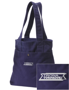 Trona High School Tornadoes Embroidered Alternative The Berkeley Tote