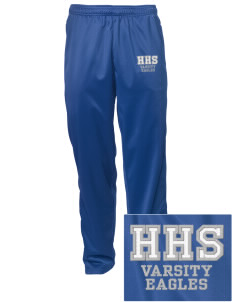 Hillside High School Eagles Embroidered Men's Tricot Track Pants
