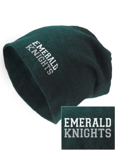 Emerald Middle School Knights Embroidered Slouch Beanie