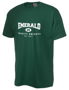 Emerald Middle School Knights  Russell Men's NuBlend T-Shirt