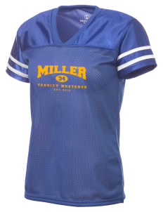 Miller Elementary School Mustangs Holloway Women's Fame Replica Jersey