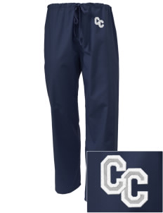 Chaparral Continuation High School Roadrunners Embroidered Scrub Pants
