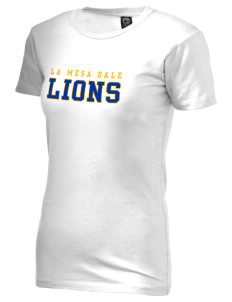 La Mesa Dale Elementary School Lions Alternative Women's Basic Crew T-Shirt